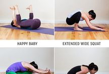Split stretches and hips