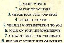 Sabedoria / Mensagens de aprendizado sobre como lidar com a vida