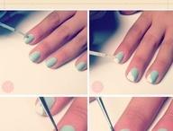 Maquilhagem e unhas