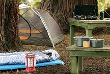 Camping Ideas / How to camp like a champ, these tips and tricks will guarantee you'll be a totally happy camper.