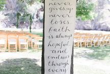 Wedding banners and quotes