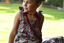 Kwiatowe motywy - ubranka dla dzieci