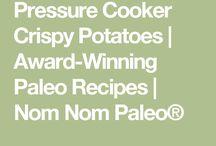 Instant Pressure cooker recipes