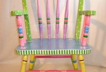 Painted Furniture / Whimsical Paint Ideas
