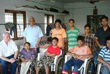 """Santhigiri Rehabilitation Institut / Hier findet ihr Fotos zum Projekt """"Santhigiri Rehabilitation Institut"""" in Indien."""