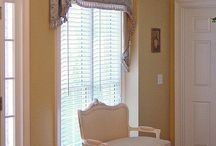 Window Treatments / There are so many ways to treat your window well - curtains, valances, blinds or something completely different - it's your window do what you will.