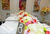 Salon du Mariage 2015 / Décoration florale, composition florale lors de notre stand sur le salon du mariage