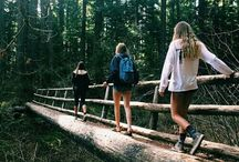 camping, hiking & the great outdoors