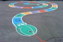 Playground paintings