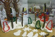 Christmas Craft / Get some inspiration for some wonderfully wintery Christmas crafts!