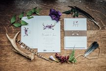 Feathers and Foraging Wedding Styling / Feathers and Foraging Wedding Styling
