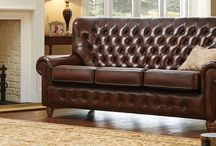 Monk - Traditional Leather Furniture / Take a look at our range of Monk traditional leather furniture. (Available in a variety of colours - please see the website for more options) - http://www.thomaslloyd.com/range/monk/