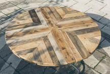 DIY round diningtable