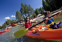 Summer Fun in South Lake Tahoe / Summer is play time at Camp Richardson. Beach time. Boat rentals. SUPs, kayaks, and more. Cruises to Emerald Bay. Bike rentals. Lakeview lodging. Ice cream (huge scoops). Picnics. Dining on the beach. Live music. And more! / by Camp Richardson Historic Resort & Marina