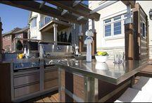 BBQ Outdoor Kitchen / Outdoor Kitchen BBQ