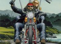 Bikers art