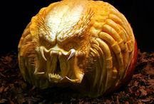 Crazy pumpkin carving / by Rebecca Price