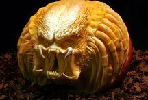 Crazy pumpkin carving / by Rebecca Price