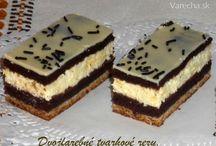 tvarohové koláče / pečenie