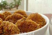 * Meatballs / קציצות ולביבות - בשר/עוף / by Yonit Shahar