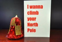 Funny Romantic Christmas Cards / Some brilliantly humorous #romantic Christmas cards for any #date