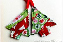 Christmas sewing projects / Christmas sewing projects including stocking tutorials, Christmas decorations, table mats and runners / by Sewing Directory