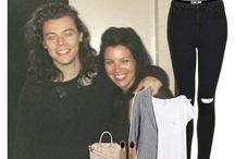 Polyvore outfits - One Direction, Zayn Malik, 1D Family...