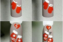 xmass nails