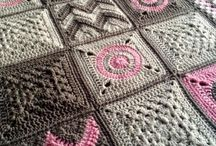 編み物 ラグ
