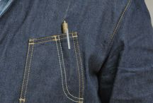 Denim jacket pocket / This board is abt putting creative brain in designing extraordinary yet practical things