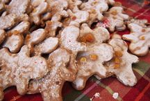 Christmas cookies / So grandma Jean doesn't have to search for her recipes every year!
