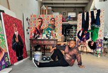 artist in their studio