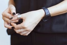 Black Is The New Black / We'll stop wearing black when they come out with a darker color. It's classic for a reason, from fashion to nail polish!