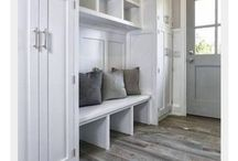 Coat closet entryway