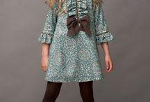 Inspiración vestidos niñas