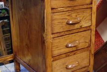 velature / Esecuzione di velature su mobili