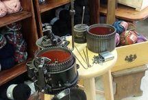 Machine a tricoter, Knitting machines