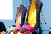 Manolo Blahnik / Spanish designer of woman shoes.