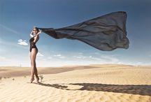desert moodboard
