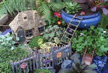 Miniatyr i trädgården