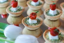 canapes and apetizers