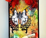 Butterfly ATCs, Tags, Cards...
