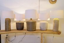 Seagrass Pendants and Table Lamps / O'THENTIQUE seagrass lamps and pendants. Great for decoration of your lovely home :)