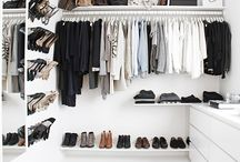 Wall in closet