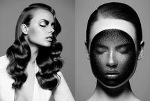Beauty head shots / Mooie inspiratie beelden