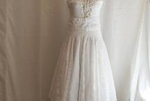 Upcycled wedding dresses