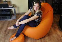 Fotele i pufy  / Fotele i pufy relaksacyjne w różnych kształtach i kolorach. Idealne do wypoczywania, spania, leniuchowania, grania, czytania, nauki, oglądania TV... i co tam jeszcze wymyślisz :)