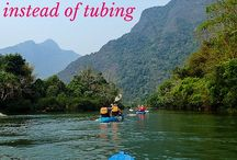 Laos Travel Tips & Inspiration / Tips and Inspiration for travel to Laos. Highlights: Luang Prabang, Vang Vieng, Vientiane and the rural areas, which are an absolute must in Laos!