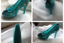 Cakes I have made / Edible shoes, cakes