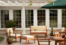 Patio Ideas / Who doesn't love a patio? It's where you spend time with your family, throw summer parties, or go to just get away from it all.  So let us help you make your patio everything that you want it to be.